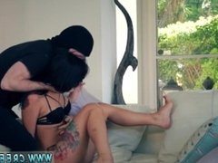 Brutal dildo play xxx ebony bdsm bondage Gina Valentina is one