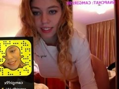 My exposed cam show 174 My Snapchat: Camgirl9x