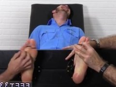 Pics of a gay man sucking another mans toes Officer Christian
