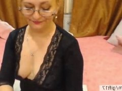 Hot Mature MILF teasing you on webcam. Hot mom