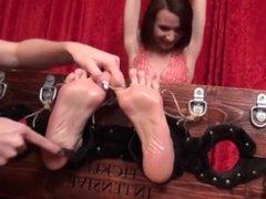 milf k feet tickle torture