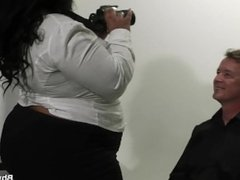 Married man cheats with mega-tits ebony plumper