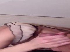 Beautiful Sister Cum Swallowing Slut Facial Cumshot