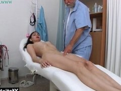 Brunette pornstar fetish and cumshot