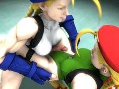 Street Fighter Futanari Preview - Cammy