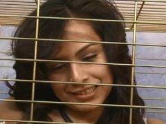 Stunning Latina Pepper Foxxx throat fucked hard at latina throats