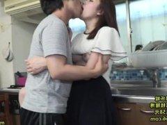 HAVD-940 Kiss Is To Husband Secret Father And Hanri, Wife Mochizuki