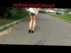 Hot Step Sister Extreme Public Piss