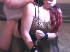 Big Booty Redhead Milf Anal Bondage Spanked & Fucked while Tied Up Swallows