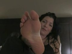 Foot Slave Chastity JOI POV