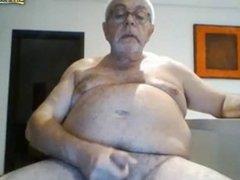Abuelo rellenito 72 años vergon