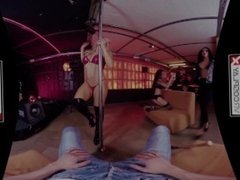 GTA VR Porn Catalina Gets FUCKED in Stripclub POV on VRCosplayX.com
