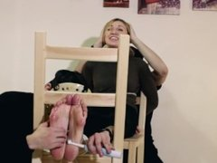 RussianFetish - Dusya tied and tickled