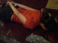 china girl tickling