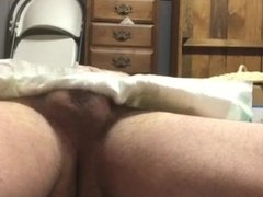 Man tried diaper humps to masturbation