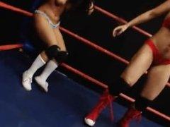 Eva Lovia vs Frankie Z