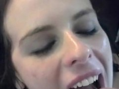 POV Urinal Whore Takes Piss in Her Mouth and Face for Boyfriend's Birthday