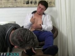 Boy jacks off with his feet gay Logan's Feet & Socks Worshiped