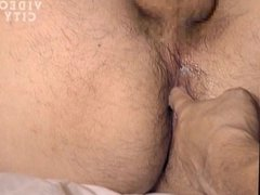 Japanese muscle hunk and dad fuck