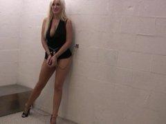 Mandy cuffed and jailed