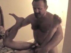 Daddy fucks his little bitch