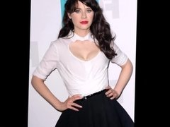 Zooey Deschanel Sexy Fap Tribute & Jerk Off Challenge