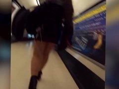 pantyhose metro girl