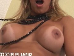 Prepare your ass for my big hard tranny cock