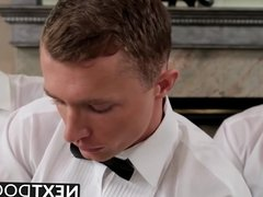 Hardcore threesome anal sex with Markie and Steven B