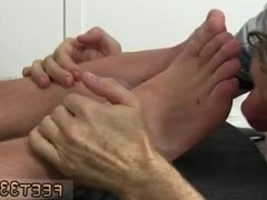Gay foot fetish and wrestling ball grabbing