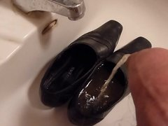 Piss in wifes old work shoes