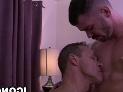 Massage for a hot daddy ends up to be a tad bit sexual