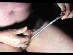 transvestite gay urethral sounding dildo toy fetish pantie