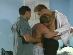 Gay threesome with cock sucking  end anal fucking