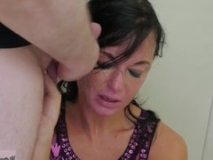 Handjob cum on boobs London is anally