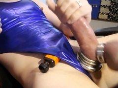 DWT CD Sissy Slut Boy Tit Play and Milk her fat Cock