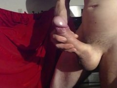 Ultra Rock Hard 8 inch cock and Exploding cum shot