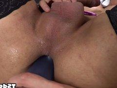 Busty TS Danielly Colucci solo porn