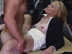 Hot blonde fucked in office first time Hot