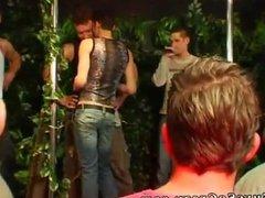 Teen boy group gay sex Dozens of fellows go