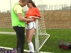 Amateur teen dp Dutch football player