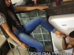 Deep Feet and Shoe Gagging Domination Girls Fetish Brazil