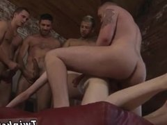 Grandpa hairy anal  gay James Gets His