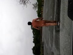 running parking lot