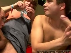 Group men fuck young boy gay first time