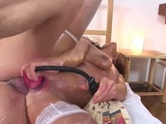MIlf pumped and deep anal fucked