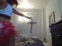 Belly dancer oops!