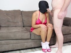 Hot Latina Wife Does What She's Told