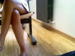Upskirt hot girl hidden cam voyeur 3
