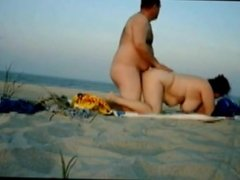 mature couple 11 on beach